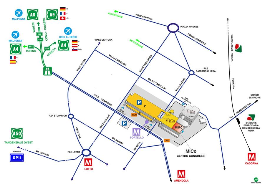 come arrivare Fiera Milano